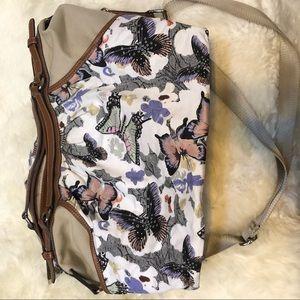 Tignanello butterfly satchel